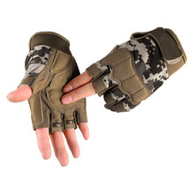 Outdoor Gloves Men Sports Military Tactical Hunting Hiking Glove Half