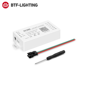 Image 3 - WS2812B Led רצועת אור בקר Bluetooth SP105E SP110E Wifi SP108E SP501E מוסיקה SP107E SP601E WS2811 SK6812 אורות DC5V 24V