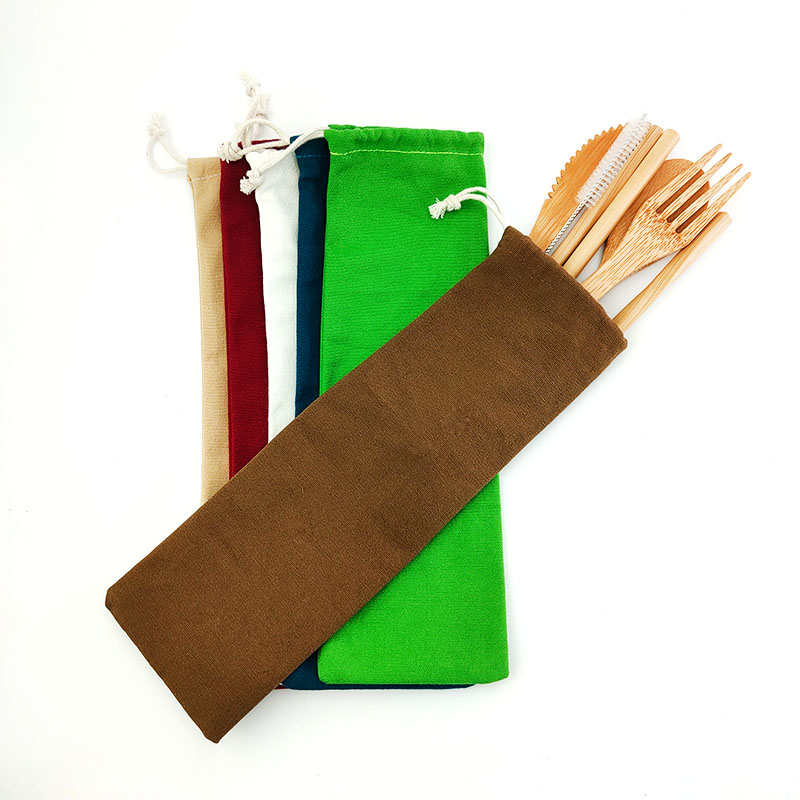 Bamboo Cutlery Travel Set
