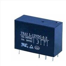Новинка; 10 шт./лот реле TRA2L-12VDC-S-Z TRA2 L-12VDC-S-Z 16A 8PIN может заменить G2R-1-E-DC12V