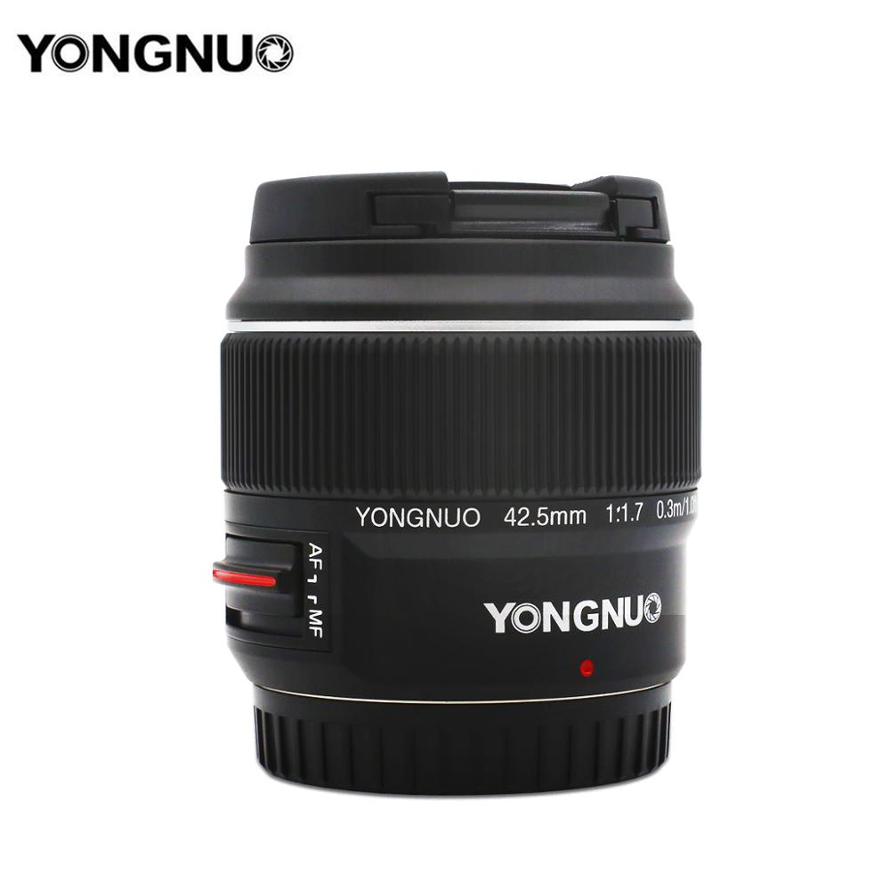 Yongnuo YN42.5mm F1.7 Macro 4/3 System Interface Large Aperture AF/MF Autofocus Standard Fixed Focus Lens Easily Blur Background