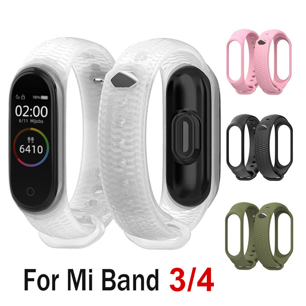 Силиконовый ремешок для Xiaomi Mi Band 4, браслеты для Xiaomi mi band 3, аксессуары для браслета mi band 3, смарт браслеты miband 4 Смарт-аксессуары      АлиЭкспресс