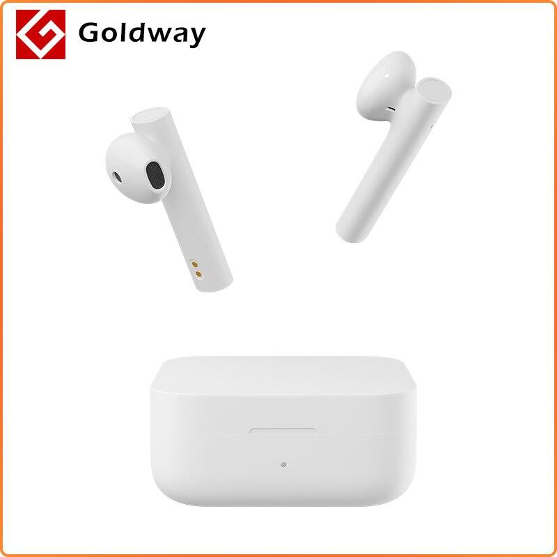 Xiaomi-Słuchawki Air2 SE, bezprzewodowy zestaw słuchawkowy TWS, nowy, douszny system nagłośnienia z łącznością przez Bluetooth, synchroniczne łącze, sterowanie dotykowe, jak AirDots Pro 2SE SBC/AAC