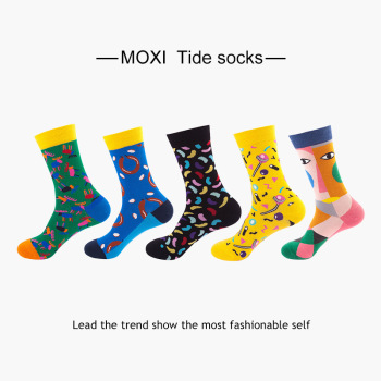 sox JT56-60 】 in Europe and the United States of socks in the spring and autumn socks web celebrity female socks недорого