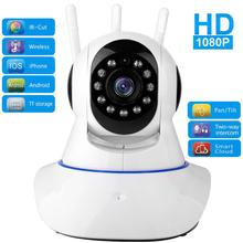 1080P IP Camera WIFI Wireless Home Security Camera Surveillance Camera Night Vision CCTV Camera 2mp Baby Monitor 32G TF Card ycc365 1080p cloud hd ip camera wifi auto tracking camera baby monitor night vision security camera home surveillance camera