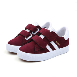2019 Flat Shoes Kids Shoes Children Breathe Boys Sport Trainers Casual Baby School PU Leather Sneaker Girls Sneaker Toddler
