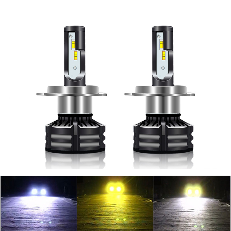 2pcs Canbus H7 LED H4 LED H11 Car Headlight lamp Auto <font><b>Bulbs</b></font> <font><b>3000K</b></font> 4300K 6000K H1 LED D1S D2S D3S D4S H3 HB3 <font><b>HB4</b></font> Hir2 H27 9005 H1 image