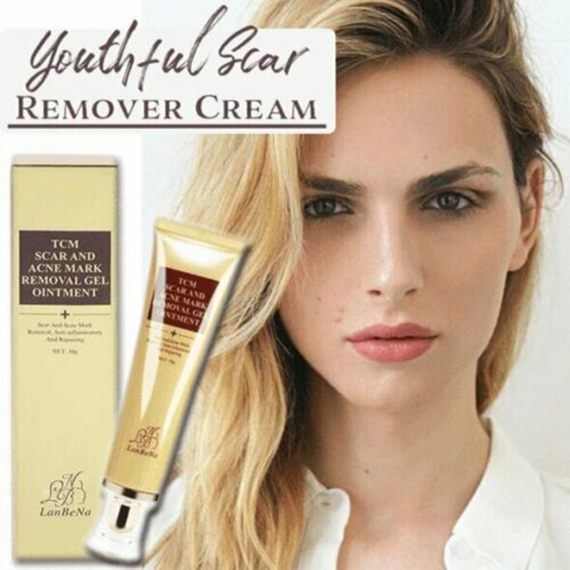 Youthful Scar Remover Cream Scars Removing Gel For Face Body Stretch Marks 30ml HJL2019