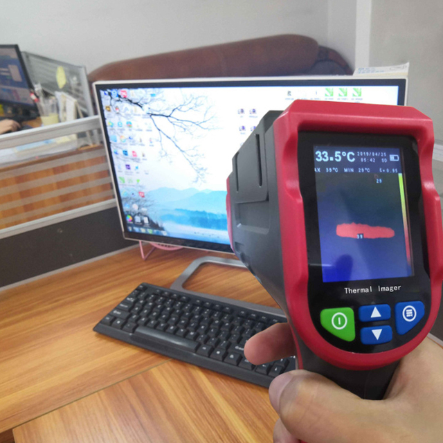 Infrared thermal imager handheld e