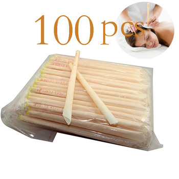 100pcs Ear Cleaner Ear Candle Beeswax Good Product Hopi Ear Wax Indian Coning Fragrance Cleaning Ear Candle Wax Removal Tool 1
