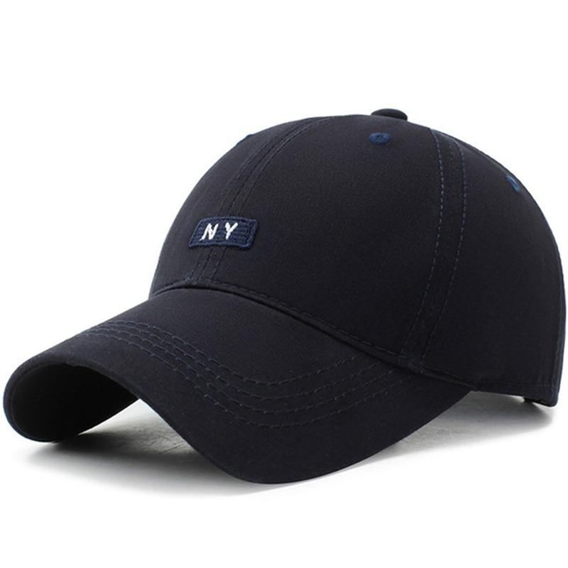 2019 Cotton NY Letters Baseball Cap Baseball Cap Hat For Men Womens Sun Cap Bone Gorras Ny Men's Hat Summer Cap