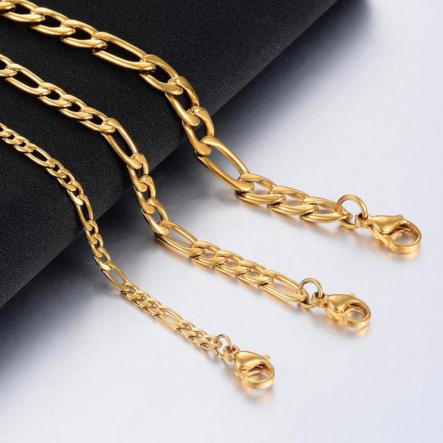 Badass figaro chain necklace