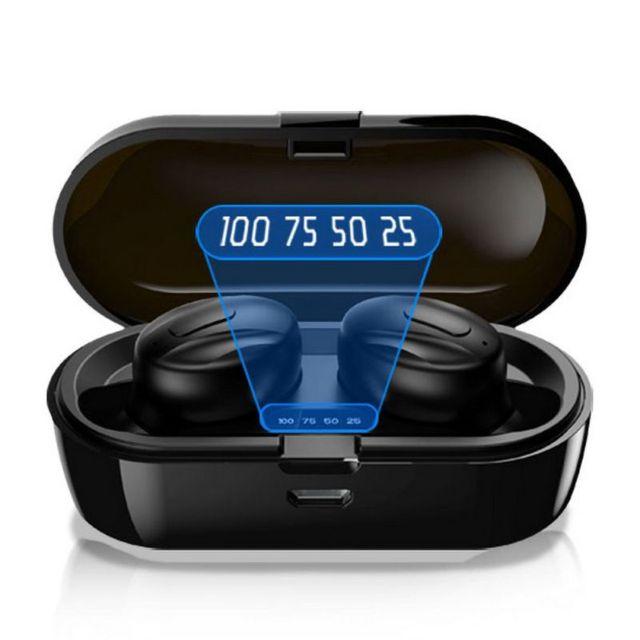 XG13Pro بلوتوث لاسلكي مصغر سماعات الرياضة في الأذن سماعة ستيريو مع صندوق شحن