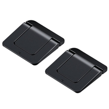 1 Pair Mini Portable Invisible Laptop Holder Adjustable Cooling Stand Foldable Multifunctional Holder for Laptop Notebook