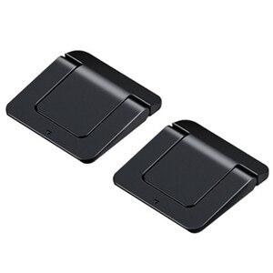 Image 1 - 1 쌍 미니 휴대용 보이지 않는 노트북 홀더 조정 가능한 냉각 스탠드 접이식 다기능 홀더 노트북 노트북