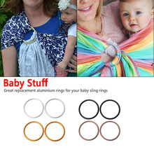 1pcs Baby Sling Rings Aluminum Adjustable Ring High Quality Baby Carrier Accessories New Arrival for Mommy Newborn Infant(China)