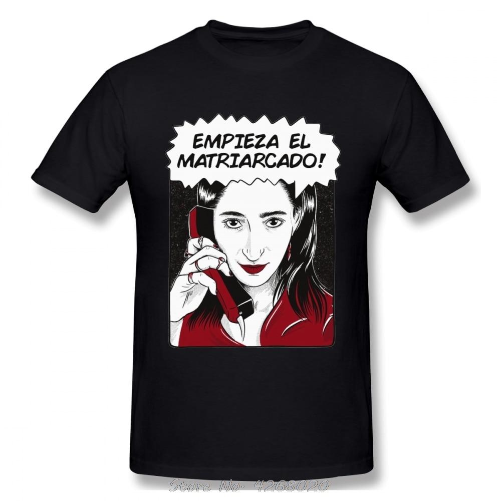 Camiseta De algodón De The Matriarchy empiezer The Matriarcado The home of Papel, Camiseta De algodón Harajuku para hombres