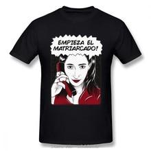 Jumthe matri(inizia Empieza El matriarchdo La Casa De Papel T Shirt Money Heist T-shirt uomo Tshirt in cotone Harajuku