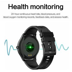 Image 4 - Lykry Smart Horloge S20 Mannen Vrouwen Volledige Ronde Touch Screen IP67 Waterdichte Hartslagmeter Sport Horloges Voor Apple Xiaomi honor