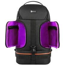 Водонепроницаемый рюкзак на плечо для фото и видеосъемки, с ночным креплением, со штативом для ноутбука 15,6 дюйма, подходит для камеры Canon, Nikon, Sony