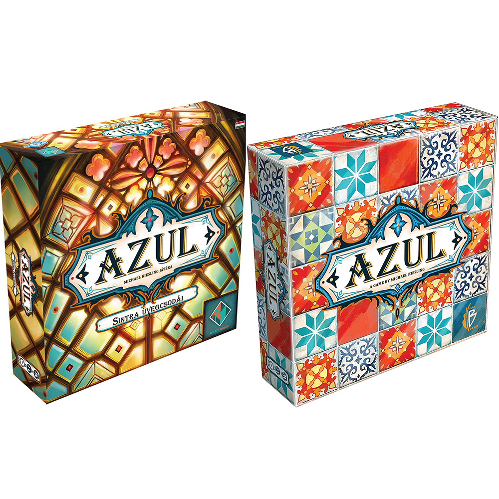 Plan B Games Azul Board Game Board Games Fun Tile Drafting For 2-4 Player Stained Glass Of Sintra 2 The Family Fun Joy