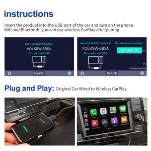 Image 3 - CarlinKit 3.0 New 2021 Wireless Carplay Adapter WIFI For SKODA Original Car With Wired To Wireless Plug &Play Carplay2air IOS 14