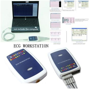 CONTEC8000G Workstation System,Portable 12-lead Resting PC based E C G Machine