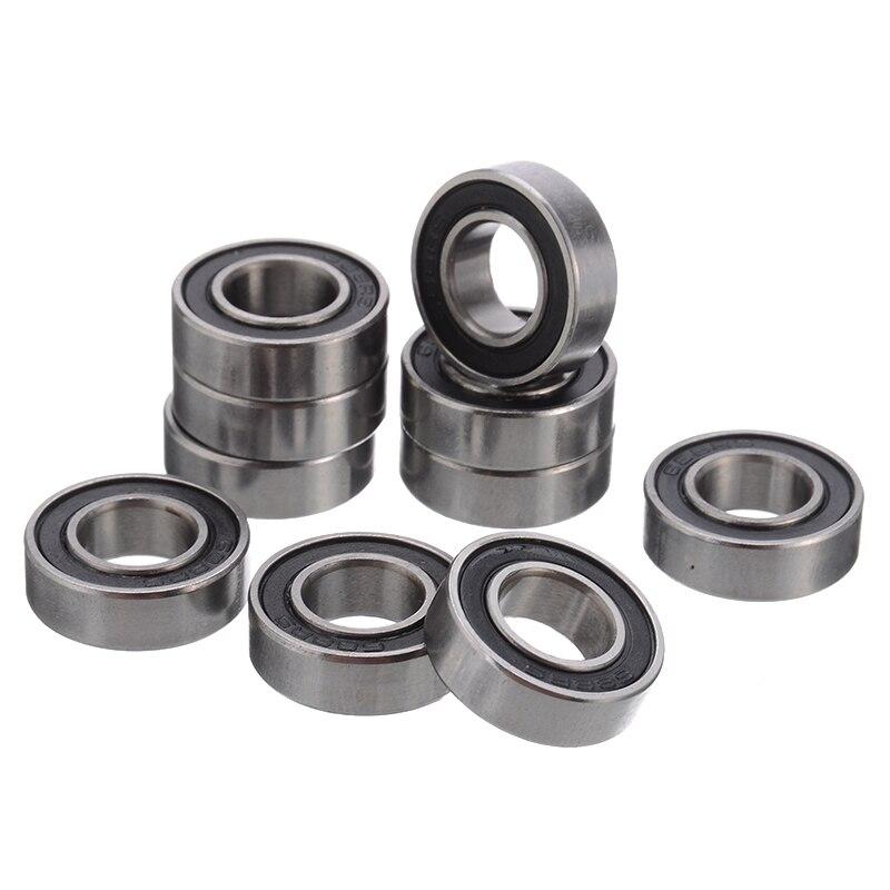 8x16x5 mm Yellow Rubber Sealed Ball Bearing Bearings 8*16*5 60pcs 688-2RS