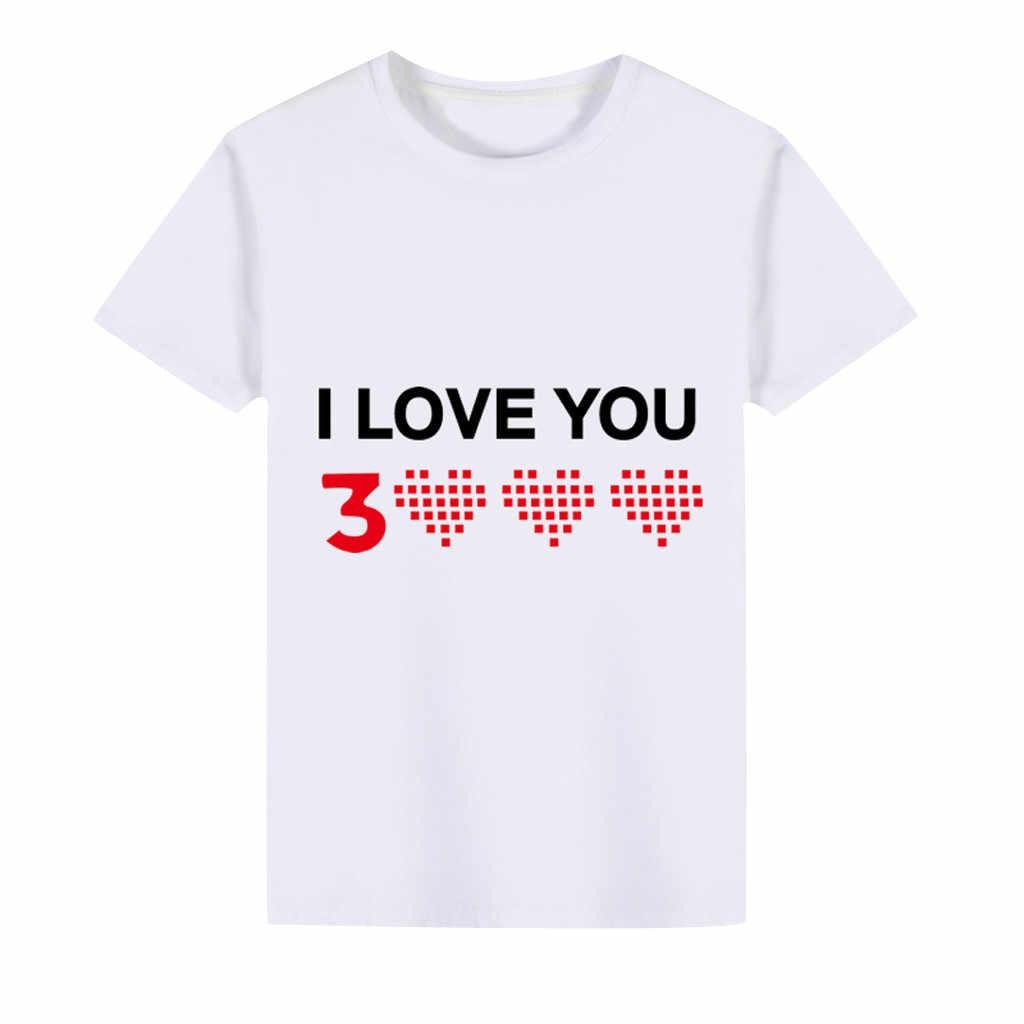 Fashion Musim Panas Anak Laki-laki Anak Pakaian Cetak Lengan Panjang Anak Perempuan Atasan Anak Laki-laki Kemeja Anak T-shirt Kasual 2020 Anak-anak Baru Tshirts untuk anak Perempuan