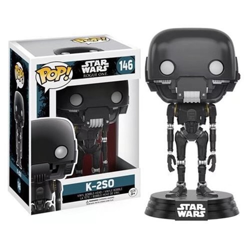 FUNKO POP Star Wars Darth Vader Luke Skywalker Leia Action Figure Collection Model Toys for Children xmas Gift 2