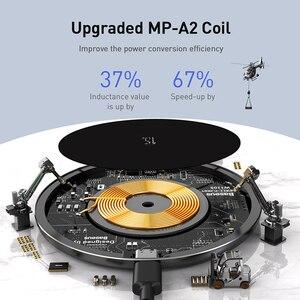 Image 3 - Baseus 15W Qi magnetyczna bezprzewodowa ładowarka do iPhone 12 Mini 11 Pro Max Xs indukcyjna szybka bezprzewodowa ładowarka do Samsung Xiaomi