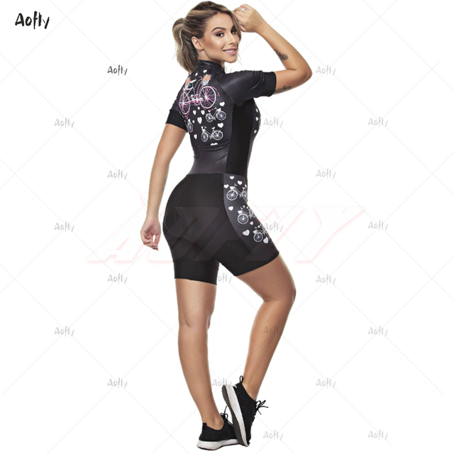 Kafitt roupas femininas ciclismo triathlon terno ciclismo skinsuit maillot ropa ciclismo mtb em forma de coração macacão de ciclismo verão macacão ciclismo feminino kafitt roupas femininas com frete gratis roupa de 4