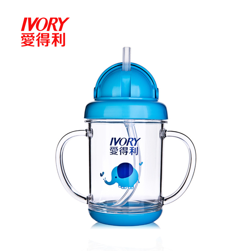 Love Profit Terri Through Tritan Sippy Cup Baby 200 Ml Automatic Water Cup Training Cup Kettle (Carton)