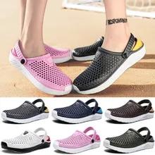 Garden Shoes Slippers Sandals Thick-Sole Beach-Crocks Women's Waterproof Unisex Newbeads
