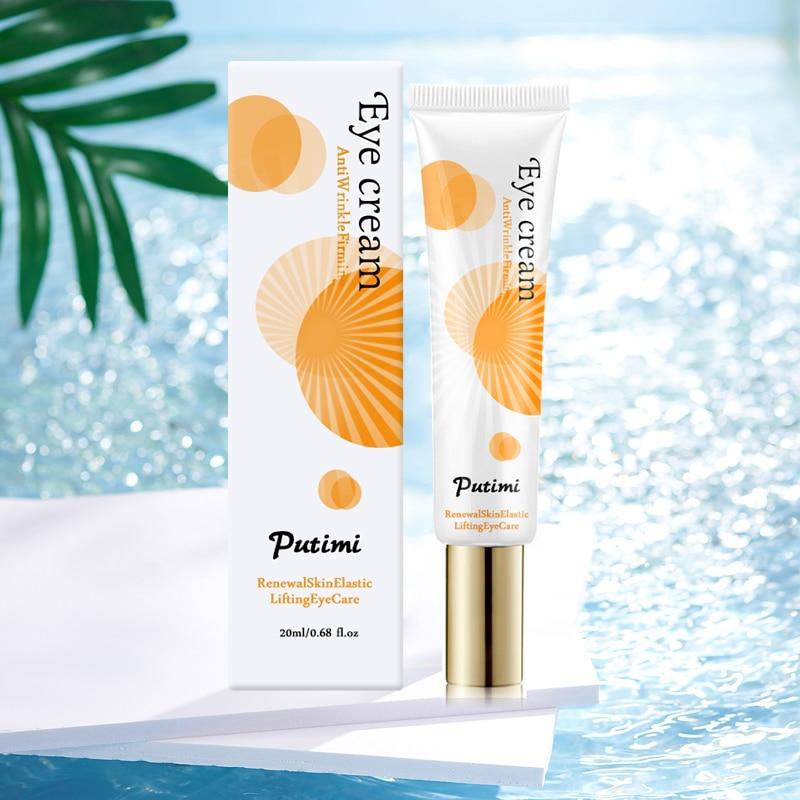 Anti-Oxidation Brighten Face Cream Shrink Pores Hyaluronic Acid Moisturizer Cream Anti Aging Eye Cream Dark Circles Eye Massager 14