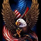 Diamond Mosaic Eagle...