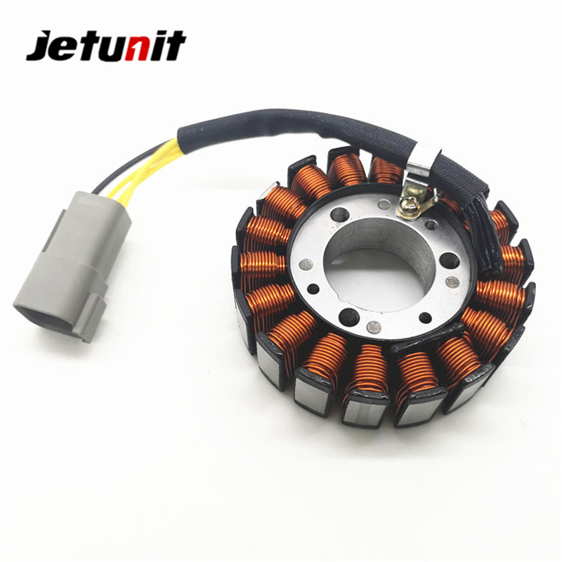 JETUNIT Jetski Part Stator Starter Coil Generator Magneto For Seadoo Watercraft GSX GTX LTD XP SPX SP LRV RX LE 420886588 14-104