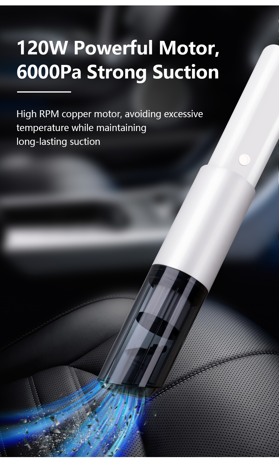 Wireless Handheld Vacuum Cleaned