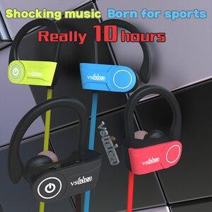 Image 4 - Esportes fones de ouvido bluetooth ipx7 impermeável fones de ouvido sem fio com microfone hd estéreo in ear fones de ouvido com cancelamento de ruído