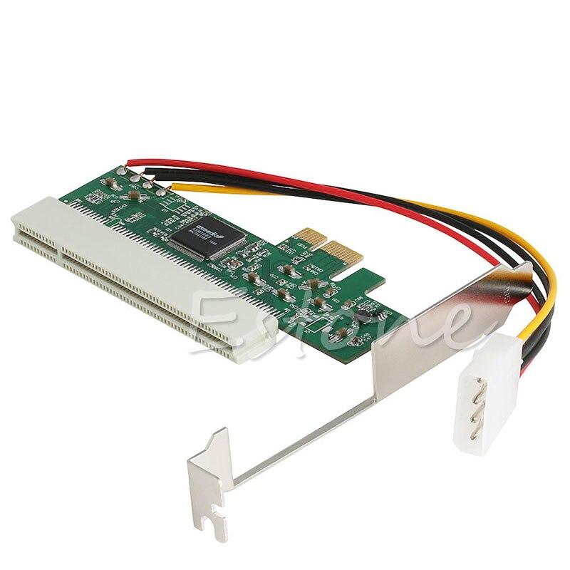 PCI-Express PCI-E a PCI Riser Bus Card convertidor adaptador de alta eficiencia