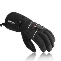 Waterproof Bicycle Gloves Ski Gloves For Men Women Warm Fleece Snow Gloves Snowboard Gloves Mittens Winter Sport Thermal Gloves
