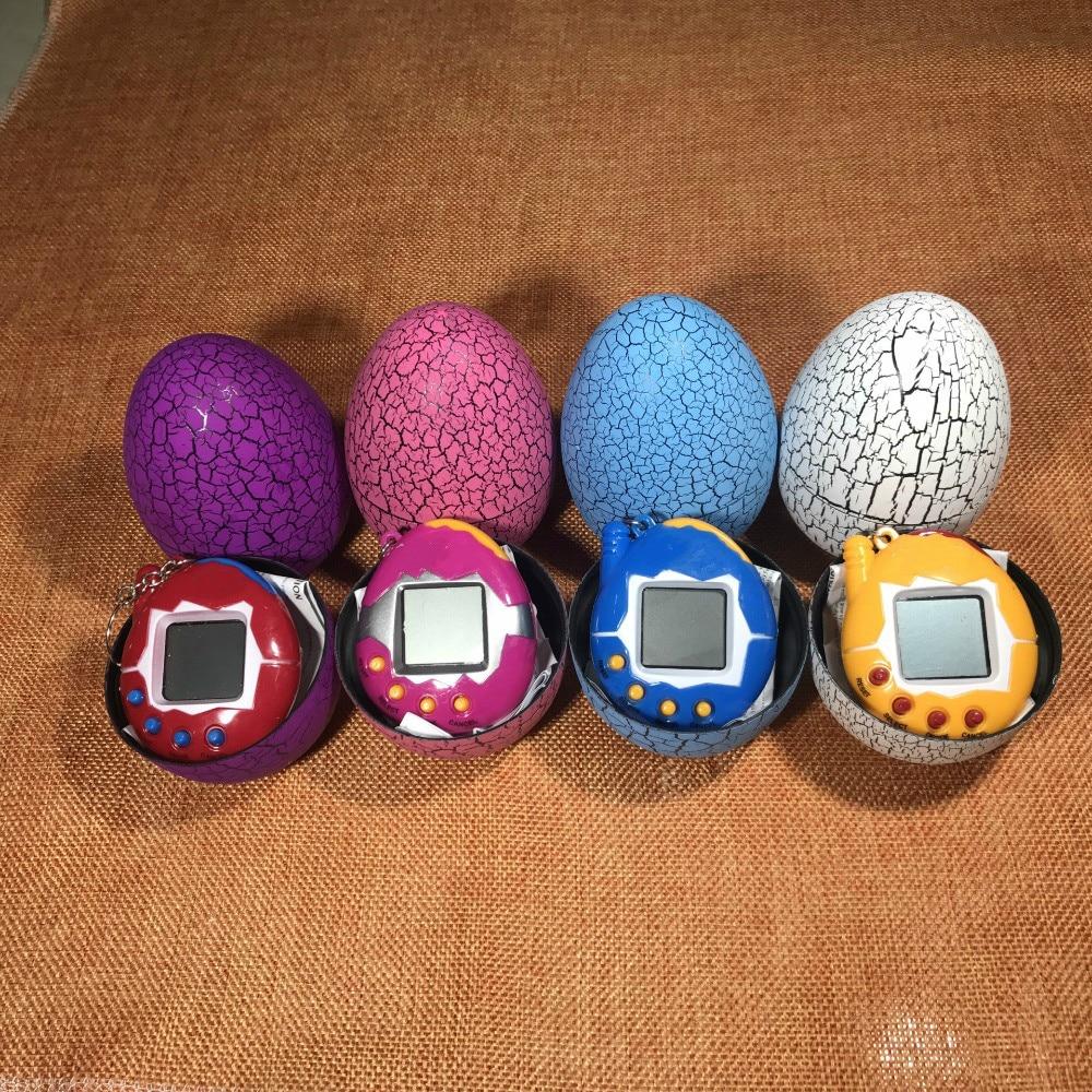 Cool Design Dinosaur Egg Virtual Cyber Digital Pet Game Toy Digital Electronic E-Pet Christmas Gift