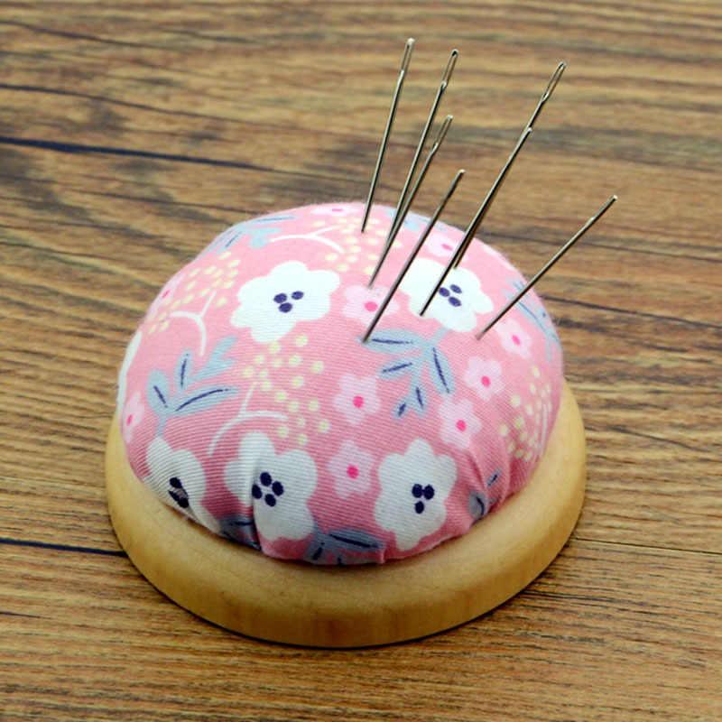 Leuke Bal Vormige Diy 1Pc Japanse Craft Naald Pin Kussen Houder Naaien Kit Pincushions Diy Naaien Huishoudelijke Naaien Leveringen G