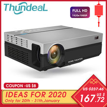 Thundeal Full Hd Projector T26K Inheemse 1080P 5500 Lumens Video Led Lcd Home Cinema Theater Hdmi Vga Usb Tv 3D T26L T26 Beamer(China)