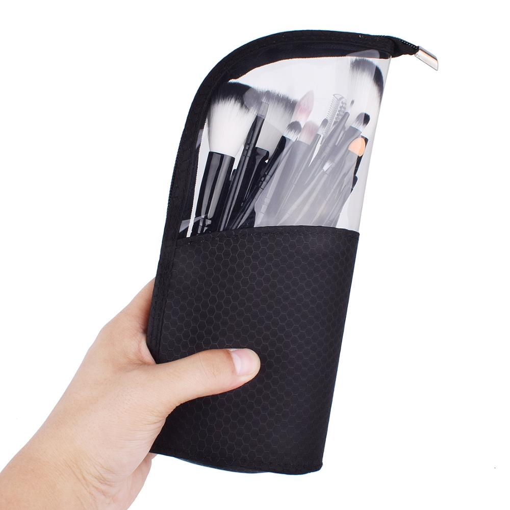 Makeup Brush Bag Travel Brushes Toiletry Bag Case Zipper Pouch Organizer Holder Dustproof For Women And Girls Beauty Case