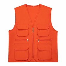 New Male Casual Summer Big Size Cotton Sleeveless Vest With Many  Men Multi Pocket Photograph Waistcoat