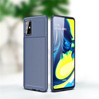 case samsung galaxy For Samsung Galaxy A71 Case Business Style Silicone Shell Back Phone Cover For Galaxy A71 Protective Case For Samsung A71 A715F (3)