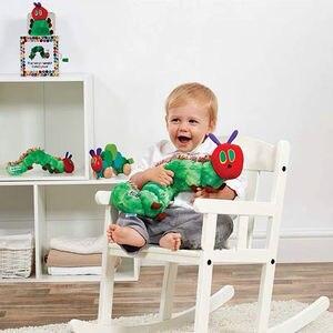 Очень голодна гусеница от Eric Carle, плюшевая игрушка с начесом, подарки для детей 40 см