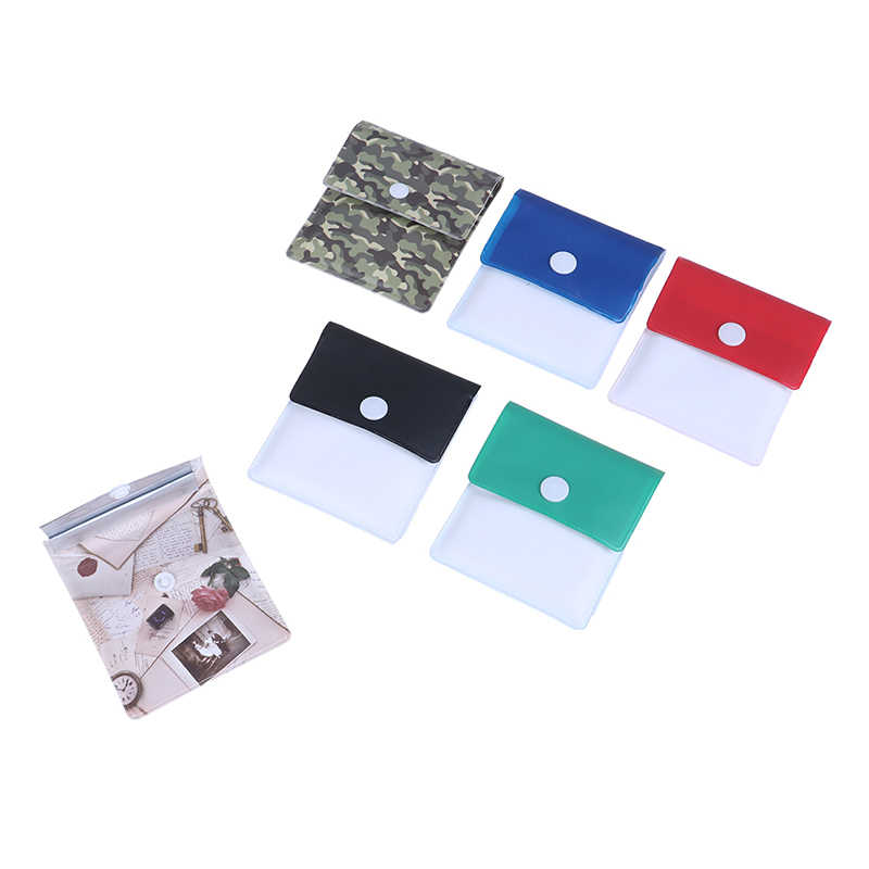 Portable Pocket Ashtray Reusable Eco Smoking Cigarette Tobacco Bag PVC Foil Odorless Pouch Travel