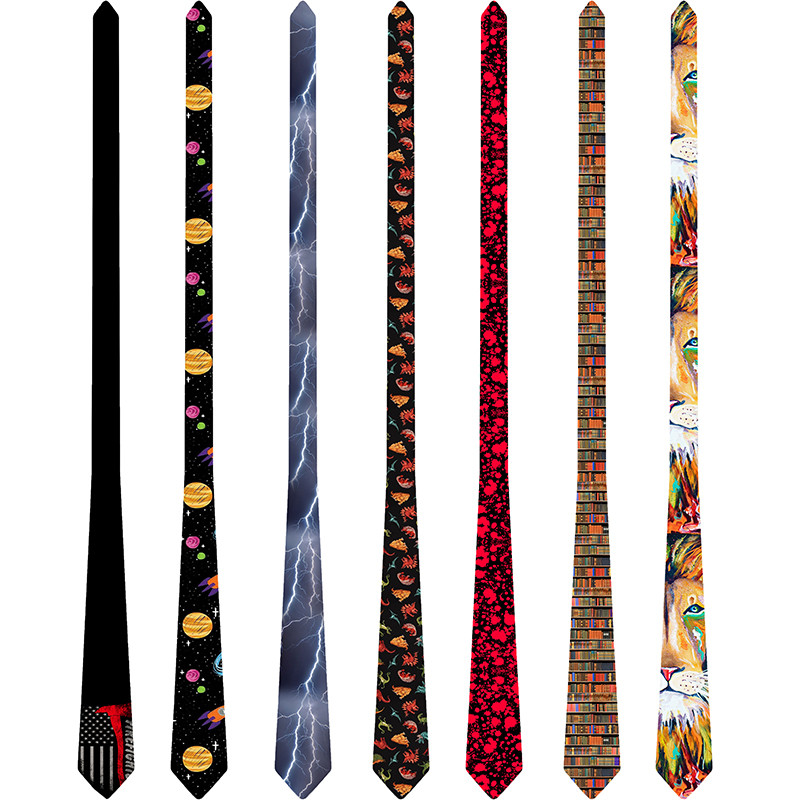 Free Shipping Classic Fashion Men's Tie 2019 Suit Accessories Neck Ties Printed Polyester Ties 8 Cm Necktie For Women 6S-LD43